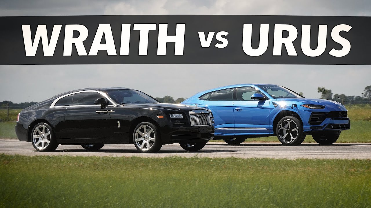 U.S. tuner Hennessey Performance has recently boosted a Lamborghini Urus to 750 hp (559 kW) and was looking for a worthy opponent to test it against when this Rolls-Royce Wraith turned up. Talk about unconventional choices!
