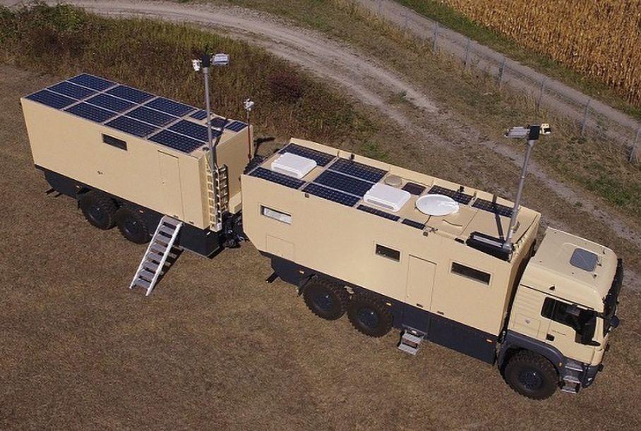 Разработчик автодомов Unicat выпустил двухосный модуль WT69 с жилой зоной и мастерской. Посмотрим?