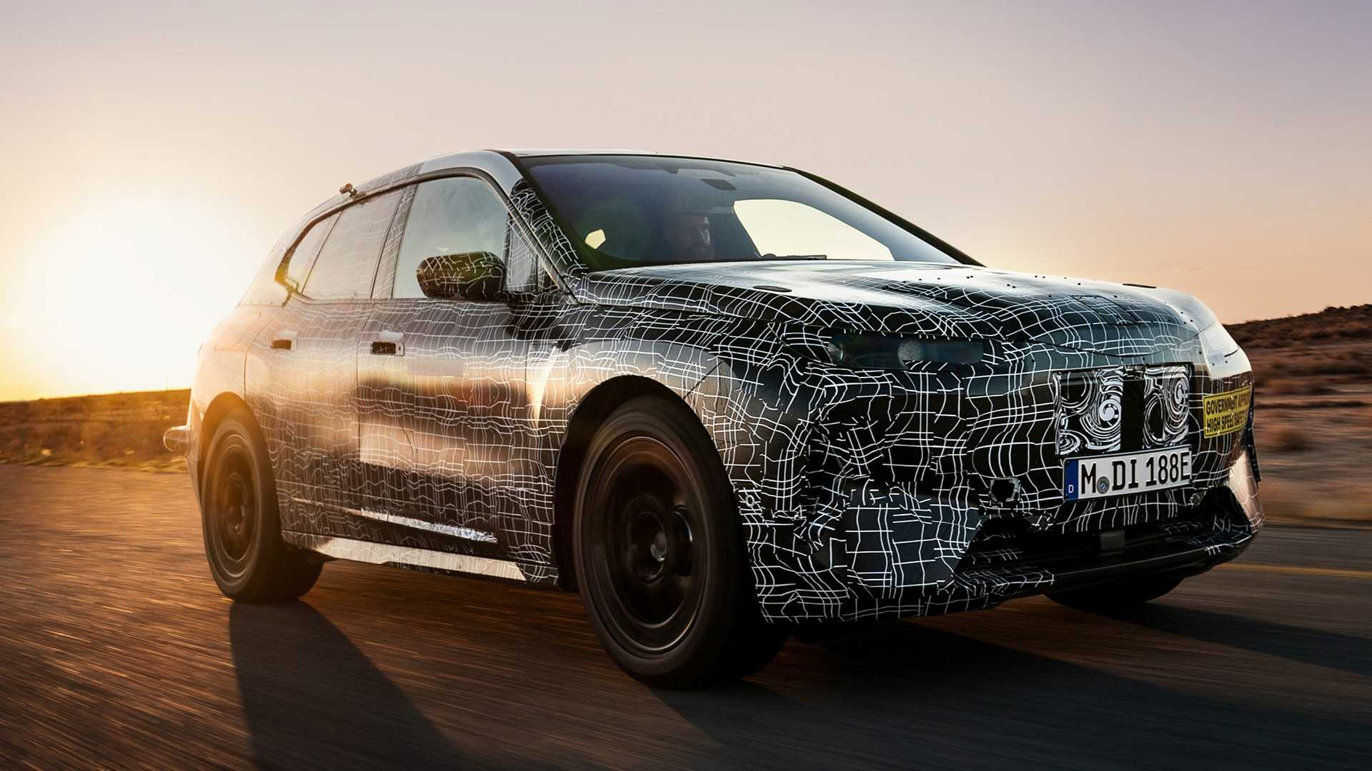 The BMW iNext Concept unveiled two years ago (see video) will ultimately enter production as the BMW iX, the manufacturer reports along with some other details.