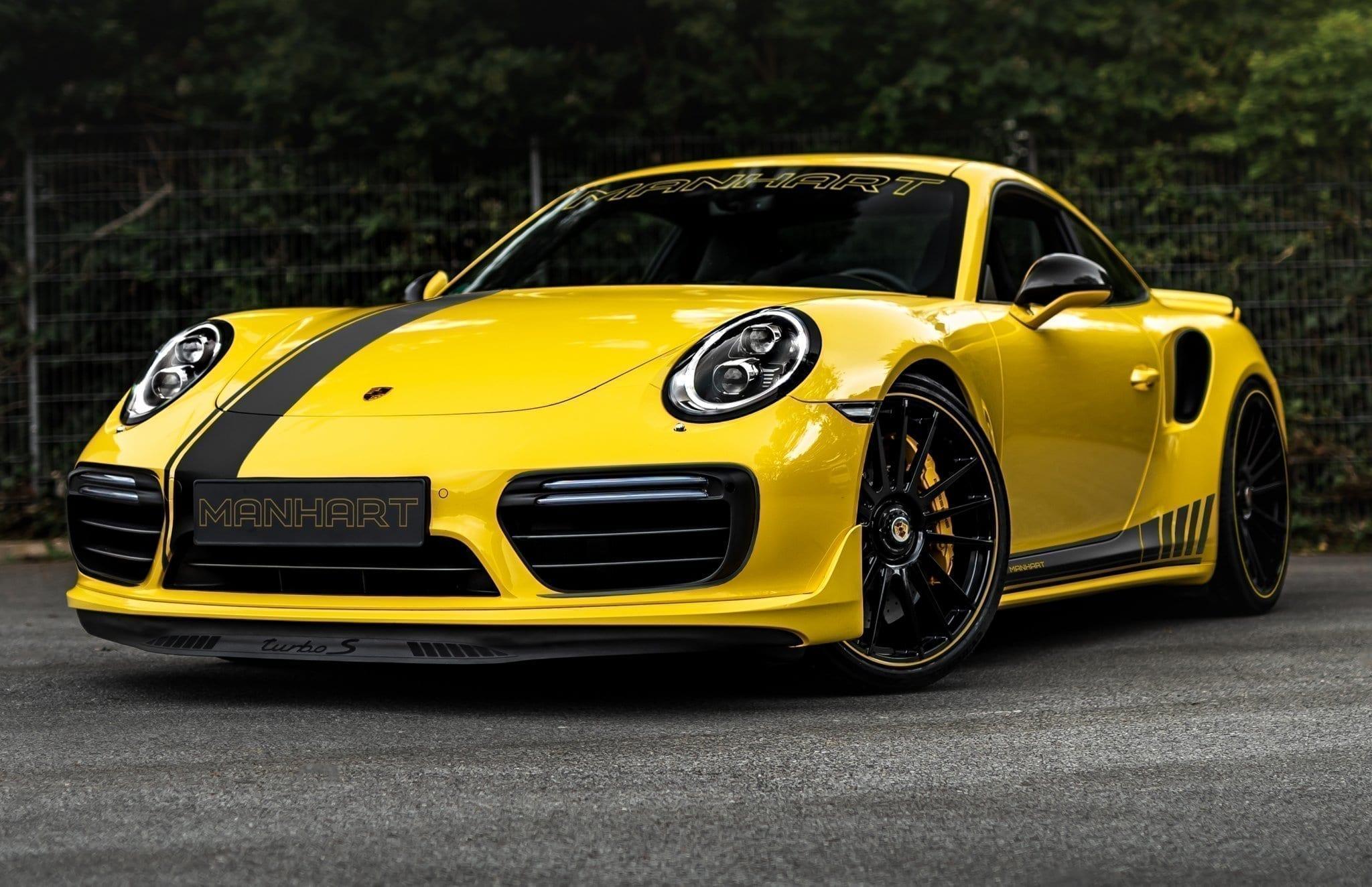 Дебют новейшего Porsche 911 Turbo S серии 992 не отбил у тюнеров интерес к прошлому поколению: Manhart Performance представил свой проект TR 850.