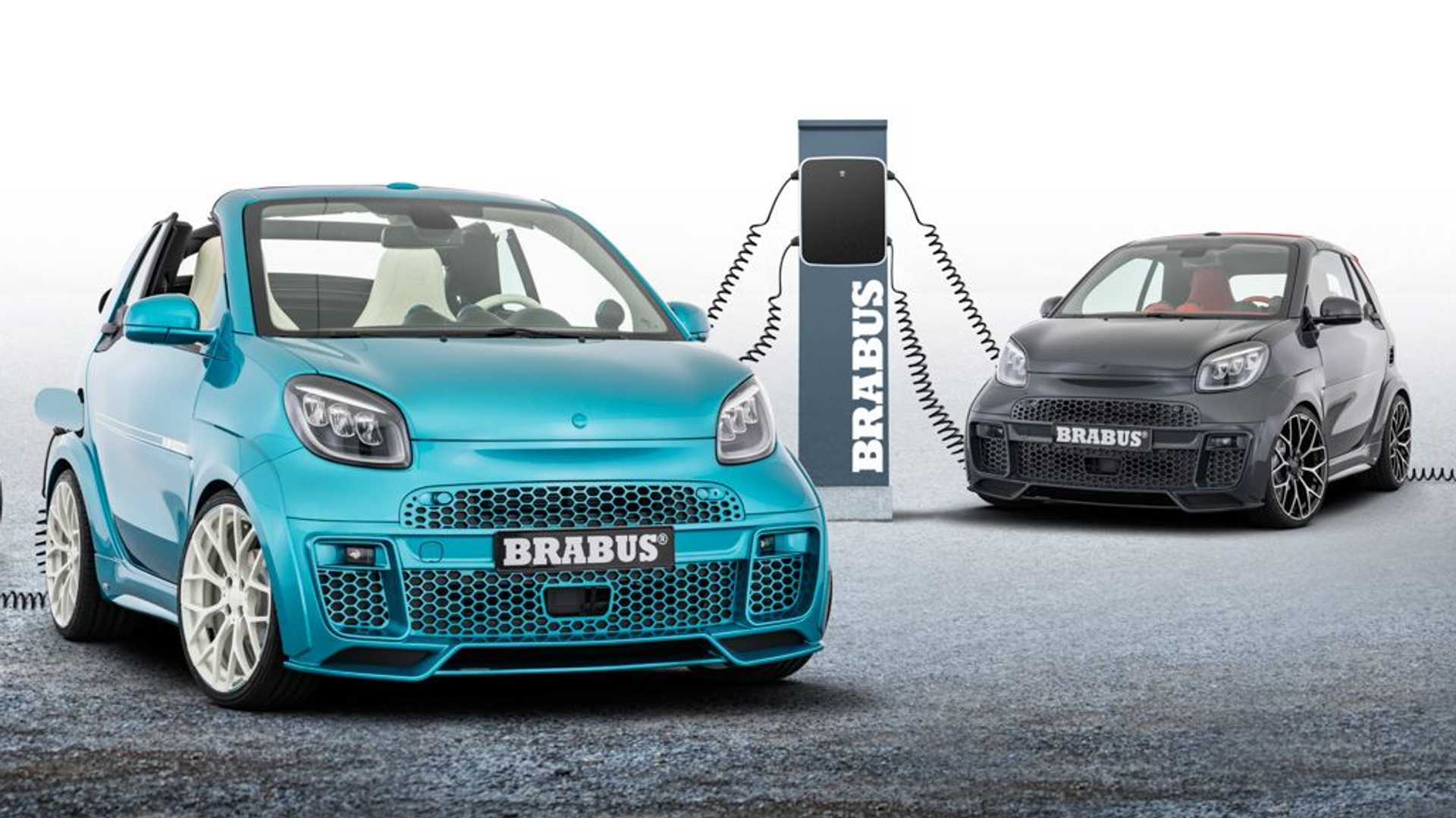 "Three years ago, Brabus unveiled a concept named ""Ultimate E"", taking the regular Smart ForTwo as the starting point. The car went on sale two years later and then gained a full-electric version that received a minor update today."