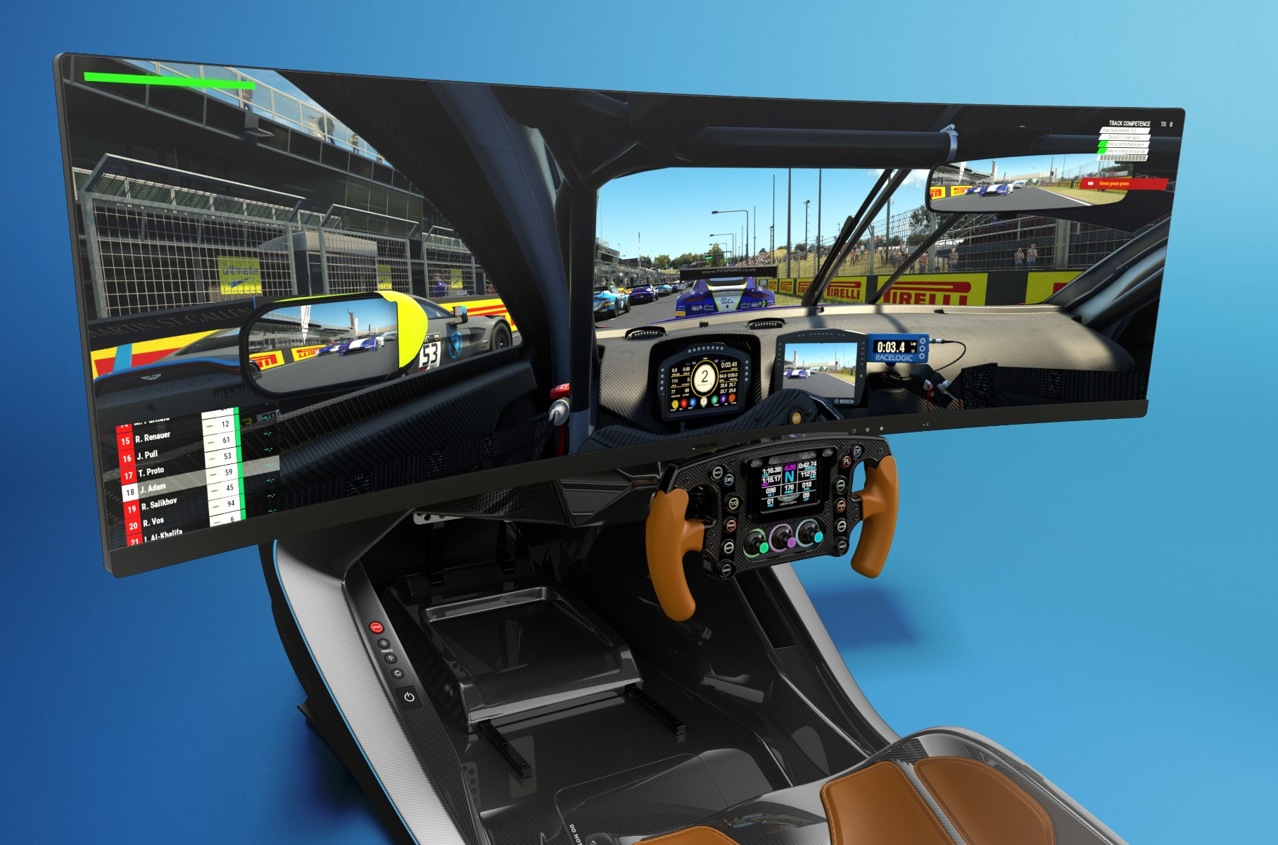 Aston Martin has worked together with Curv Racing Simulators to produce AMR-C01, a cybersports-oriented racing simulator machine with impressive specs and pricing.
