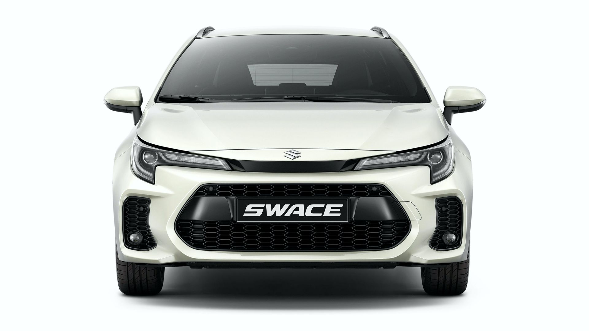 "The estate-shaped Toyota Corolla is underway to the Old World markets now, but don't expect to see it with the old badge: it is ""Suzuki Swace"" now, thank you very much."