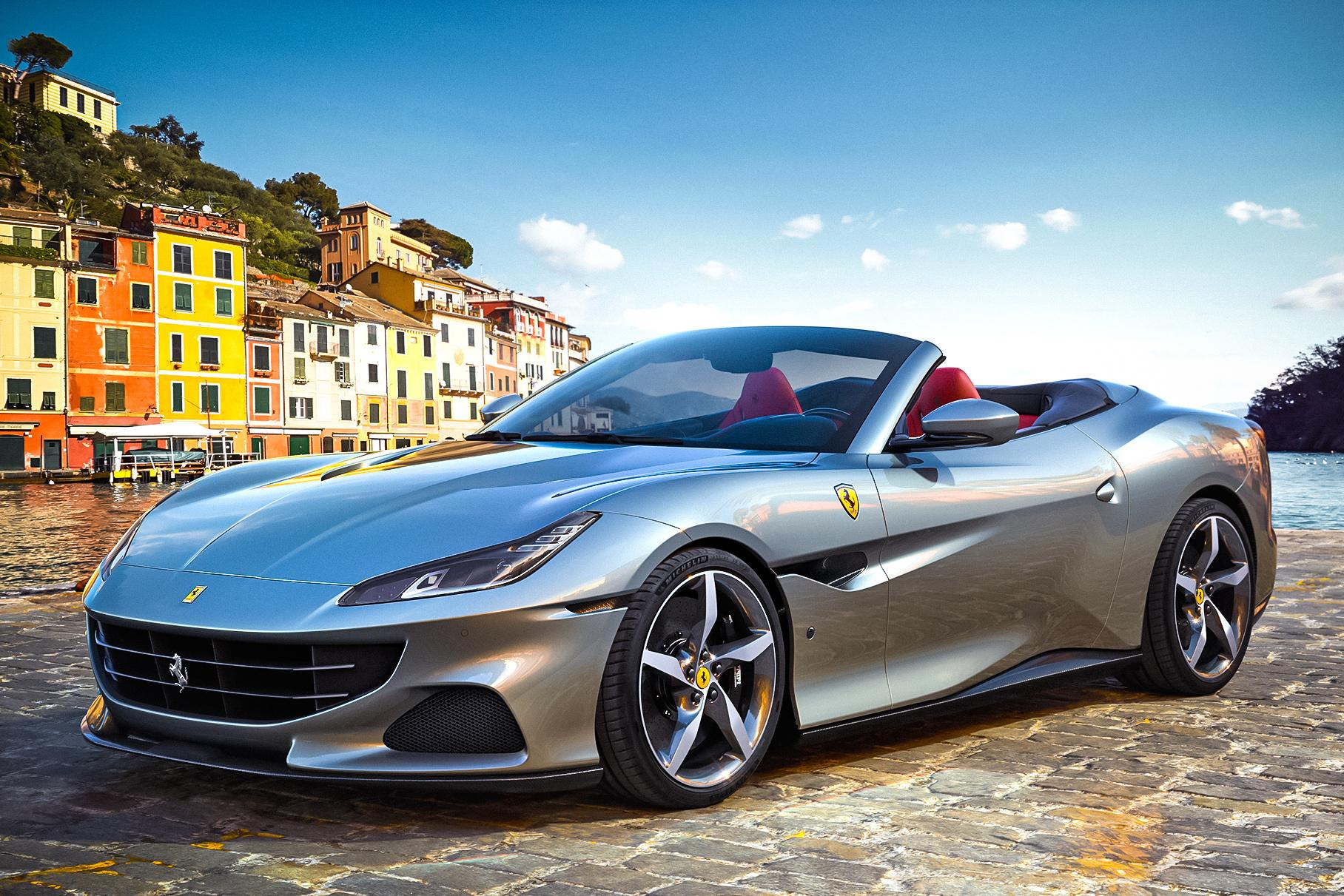 Ferrari has premiered Portofino M, where the 'M' stands for 'Modificata'. The convertible sports both design and powertrain improvements.
