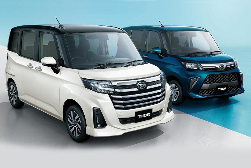 Микровэны разработки фирмы Daihatsu дебютировали осенью 2016-го, а теперь компакты пережили рестайлинг и лишились одного из названий.