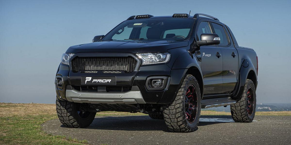 The facelifted Ranger may be drawing all the attention to itself, but it does not mean the older versions are no longer worked upon. Let's check out this 2011 Ranger recently released by Prior Design.