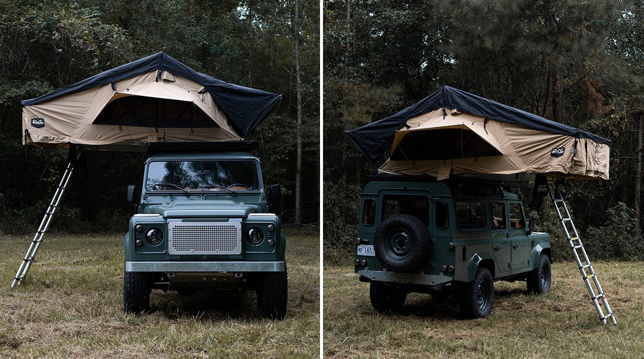 British tuner Osprey Custom Cars has some experience swapping old Land Rover Defenders to Chevrolet Corvette engines (see video for just one example). A few days ago, the 6.2-liter LS3 V8 found its way inside a 1985MY off-roader.