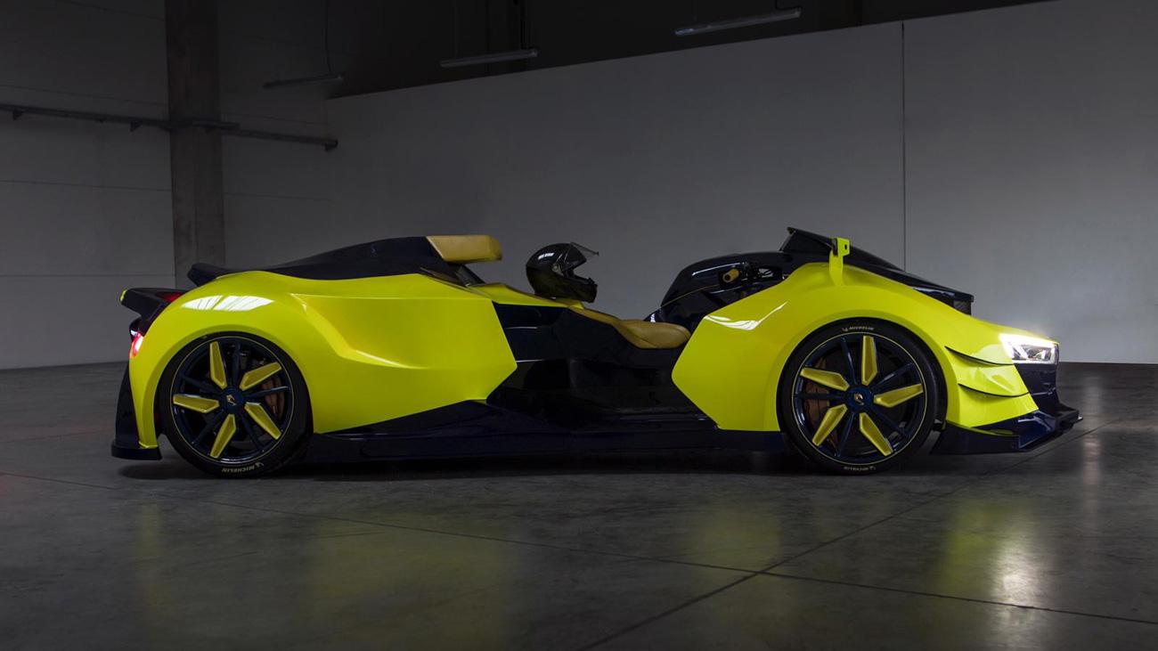 В прошлом году концепт Engler FF стал одной из самых необычных премьер Женевского автосалона, а теперь к официальному дебюту готовится серийная версия «первого на свете суперквадроцикла» (Superquad).