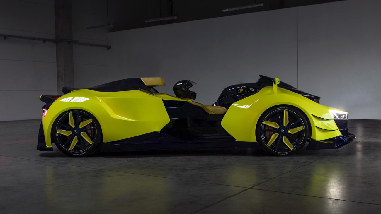 """The quad bike named Engler FF Concept was definitely one of the highlights of the last year's Geneva Show, and now, the vehicle that its manufacturer claims to be the world's first """"superquad"""" bike is nearly ready for production."""