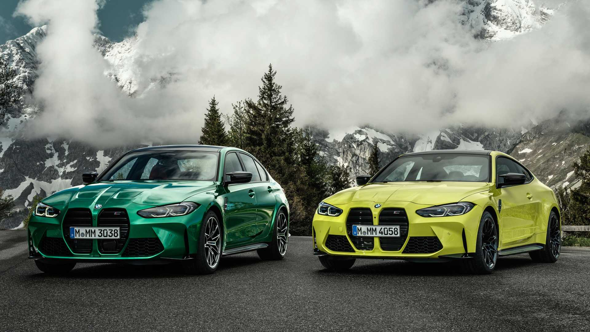 The long wait is over: BMW has removed the wraps from its new M3 and M4 models. Both debuted in their topmost Competition spec armed with the 3.0-liter turbo-six engine of the X3 M and X4 M, but with higher torque.