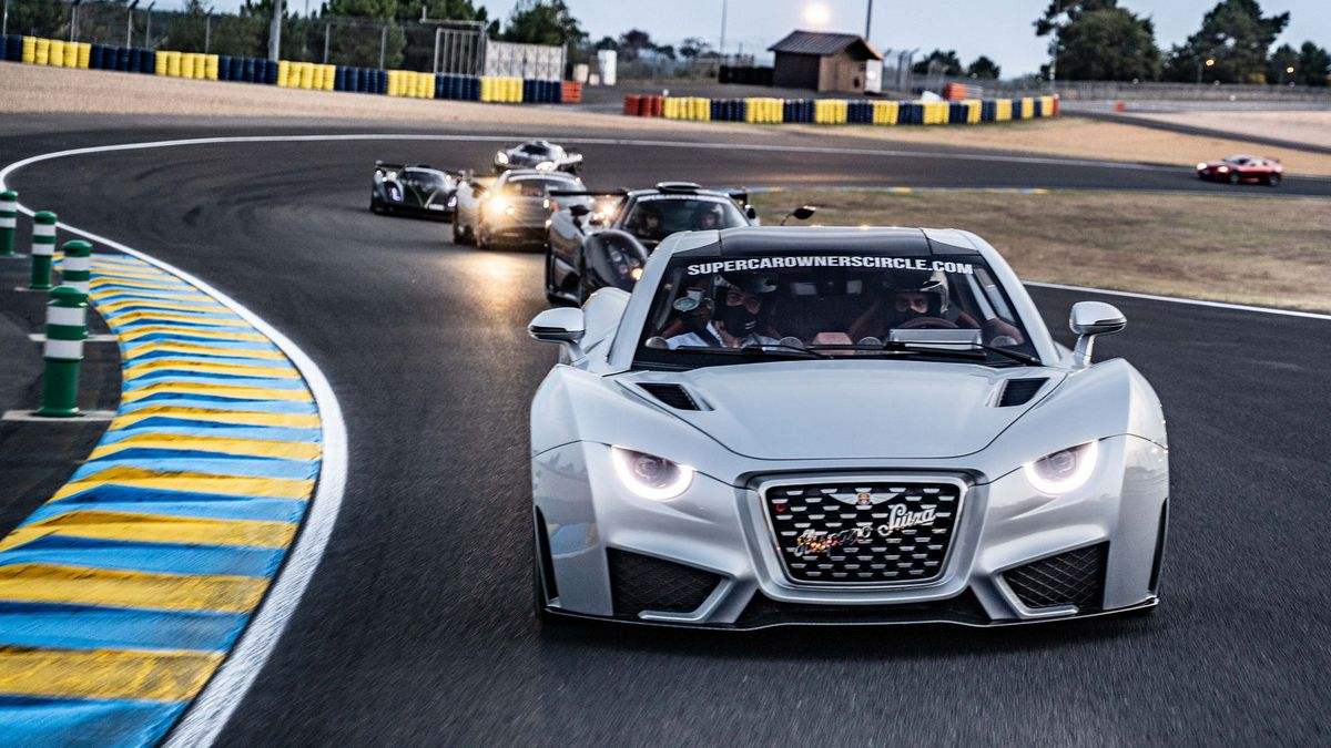 Multiple hypercars have run a demo lap before the start of this year's 24-hour endurance race on the famed Circuit de la Sarthe, a.k.a. Le Mans. Heading what looked like $10+ million worth of vehicles was the all-electric Carmen by Hispano Suiza.