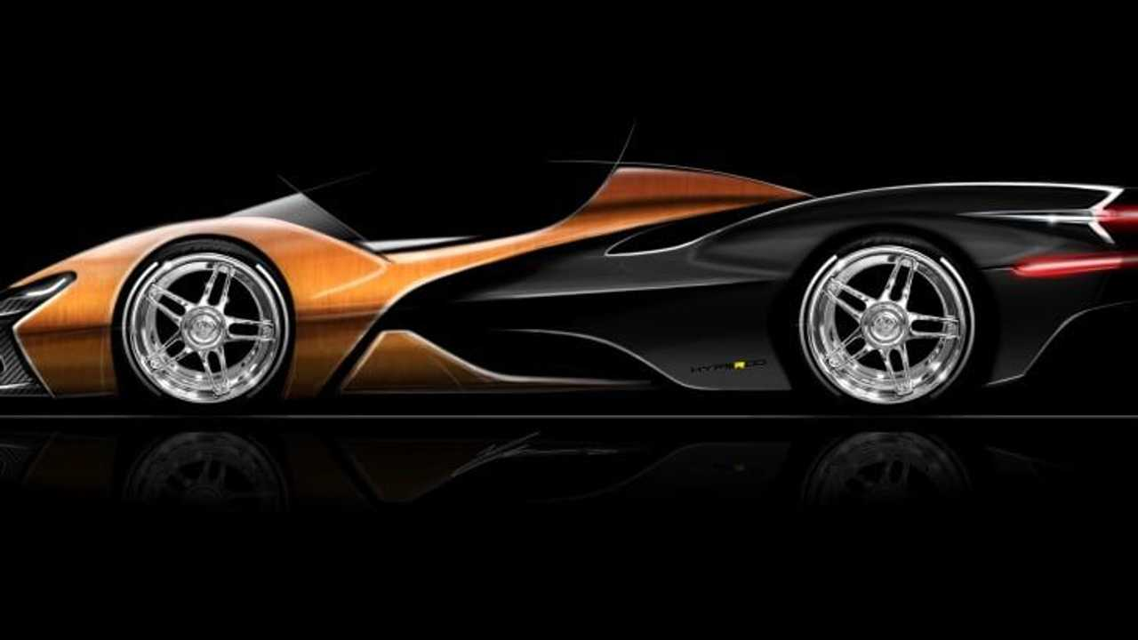 Automotive designer Paul Halstead seems determined to launch the Hyperod, his dream hypercar/hot rod crossbreed lacking doors and glass, but packing a mighty W16 welded from two seven-liter Chevrolet LS7 V8 mills.