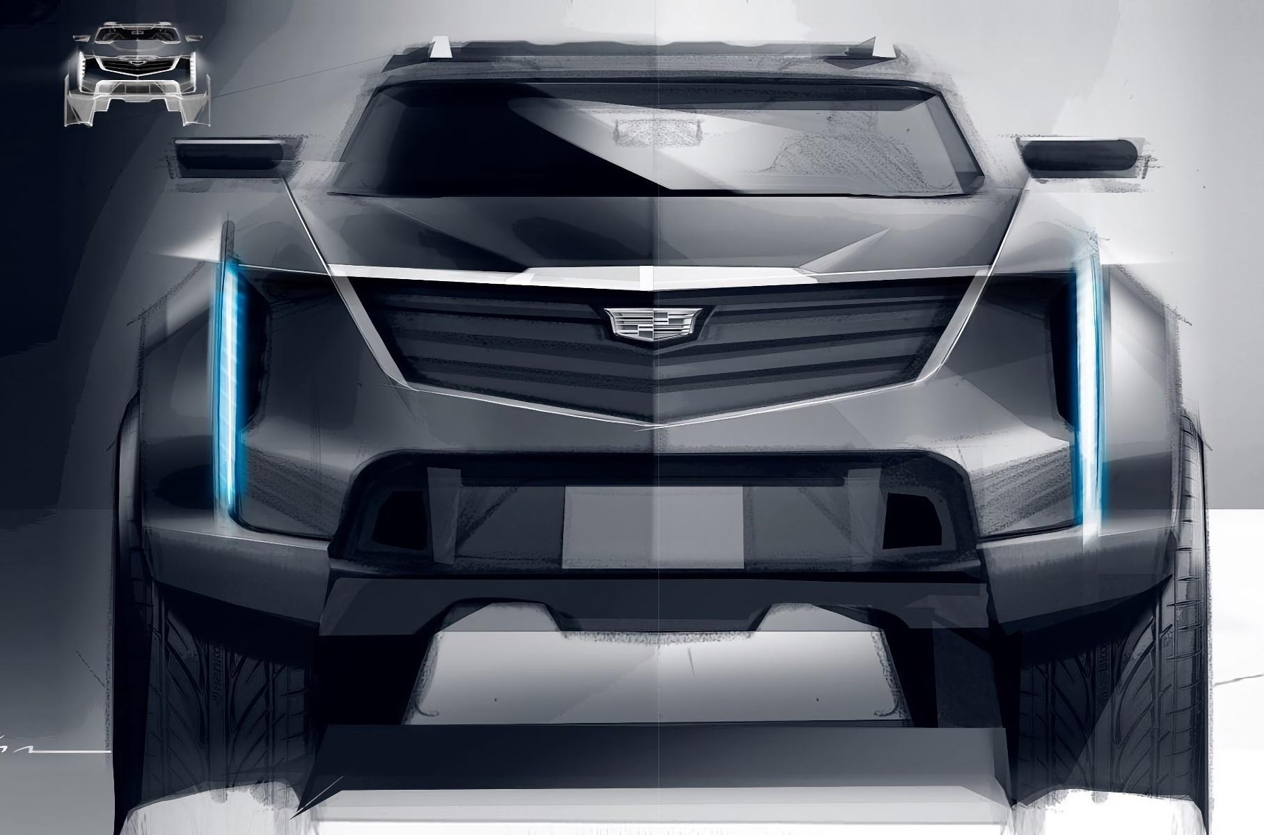 GM Design has shared images across its social media pages showing a cryptic well-equipped Cadillac off-roader. It would seem that the company has been busy designing a capable electric SUV lately.