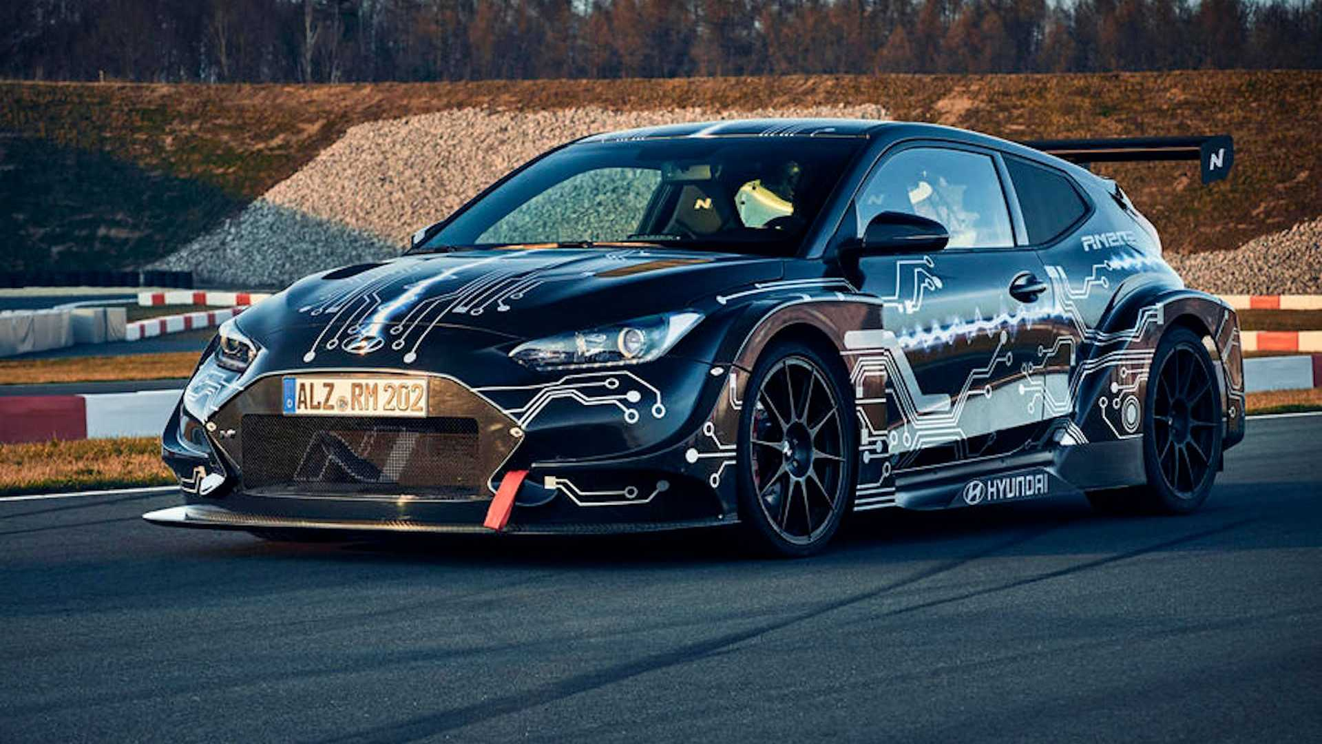 Hyundai N's 600kW mid-engined electric Veloster signals future