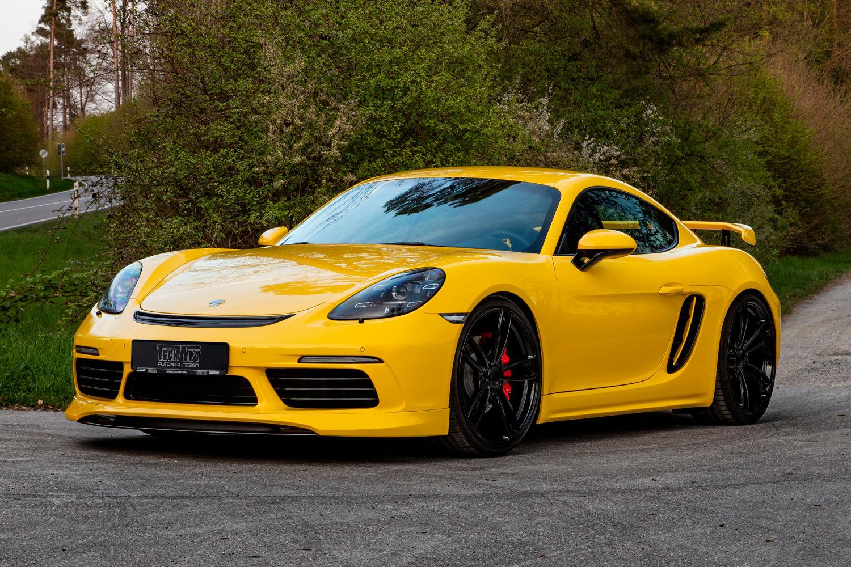 Немецкое ателье тюнинга TechArt дало старт продажам двух аксессуаров чисто эстетического характера для моделей линейки Porsche 718 Cayman. Заказы можно оставлять лишь до 30 октября, потом выпуск прекратится.