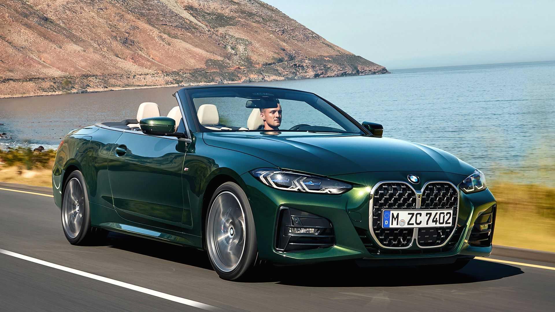 Купе BMW 4-й серии дебютировало четыре месяца назад, а теперь производитель представил открытую версию. Кабриолет сменил жёсткий верх на тканевый: он на 40 % легче прежнего, но, в отличие от обычных мягких крыш, обеспечивает высокий уровень комфорта.