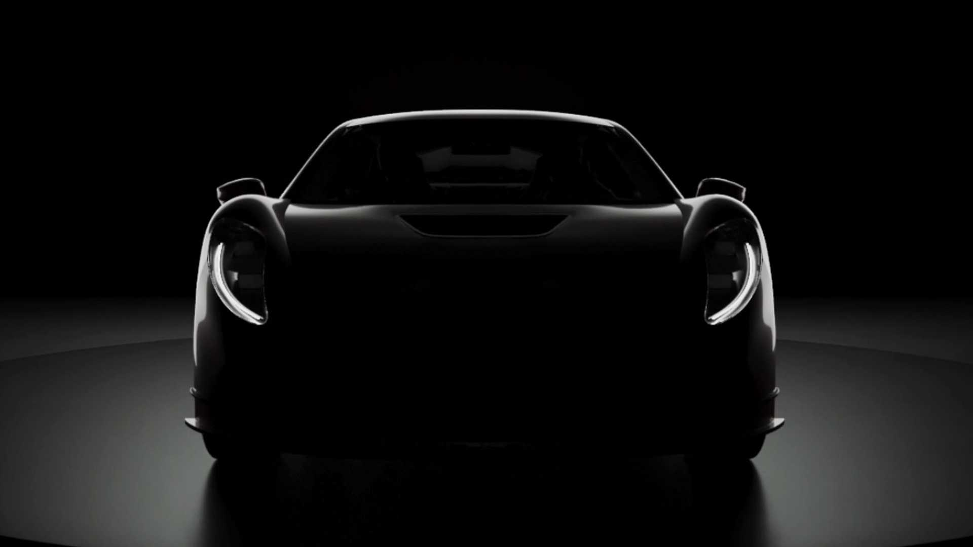 What you see here is the first teaser image of an Italian supercar built by Tacio Taraschi to pay respects to his late father, famous car constructor and racing driver Berardo Taraschi. The announcement is accompanied by photos of one of his works, the exotic Giaur 750 Champion Sport (see video).