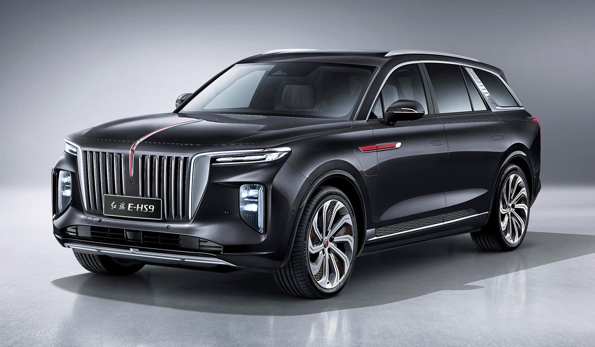 "The Hongqi marque (Chinese for ""Red Banner"") used to produce luxury stretch limos and light passenger vehicles for higher-ranking CCP members, until its owner – FAW Group – decided to expand into the SUV territory. One after another, the company released the E-HS3, HS5 and HS7, and the especially luxurious E-HS9 joins them now."