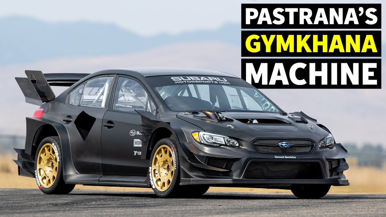 Travis Pastrana reveals epic Gymkhana-spec Subaru WRX STI