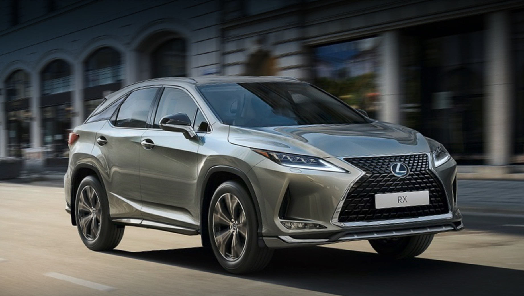 Lexus has unveiled yet another Black Vision model: the RX SUV meant exclusively for Russia. Let's see what it is about.