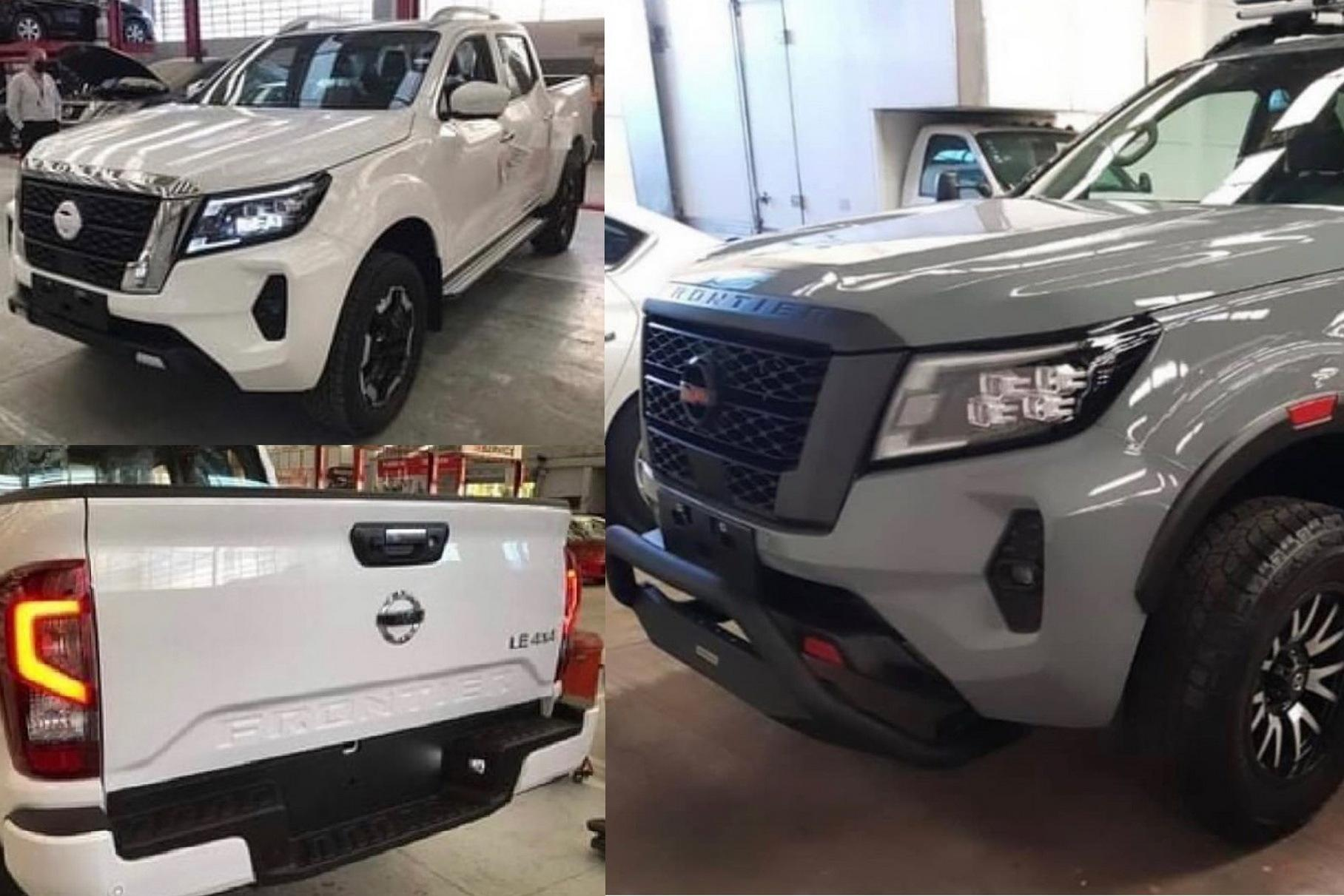 The latest spy shots depict what looks suspiciously like a refreshed production version of the Nissan Navara pickup, also known as the Frontier on some markets. Care to get a closer look?