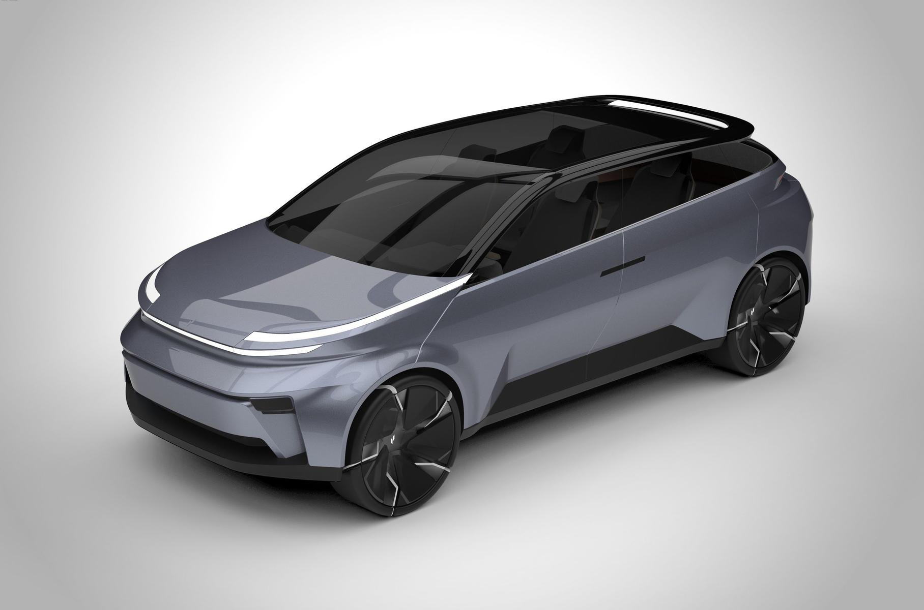 Meet the Project Arrow Concept, an early sketch of an electric car being designed in Canada under the supervision of a group of Carleton University researchers.