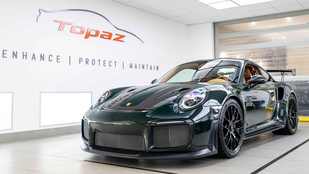 Not many supercars out there can approach the 690-hp Porsche 911 GT2 RS in terms of features for price. Stiff suspension, plenty of carbon fiber and titanium in the Weissach version and the ability to lap up the North Loop in under 7 minutes – what's not to love? Still, an owner felt it needed a full makeover.