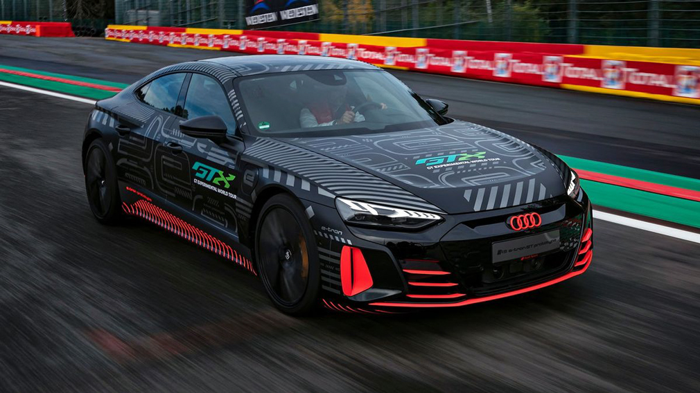 As the German carmaker announced the coming of its performance-packed e-tron GT RS along with posting some pics of the car, speculation began as to what kind of power it would pack.