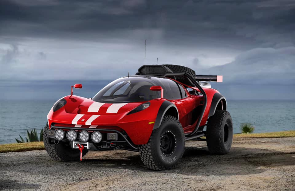 The CEO of Scuderia Cameron Glickenhaus (SCG) has shared some pics of an upcoming sports buggy called the SCG 008 along with some interesting details.