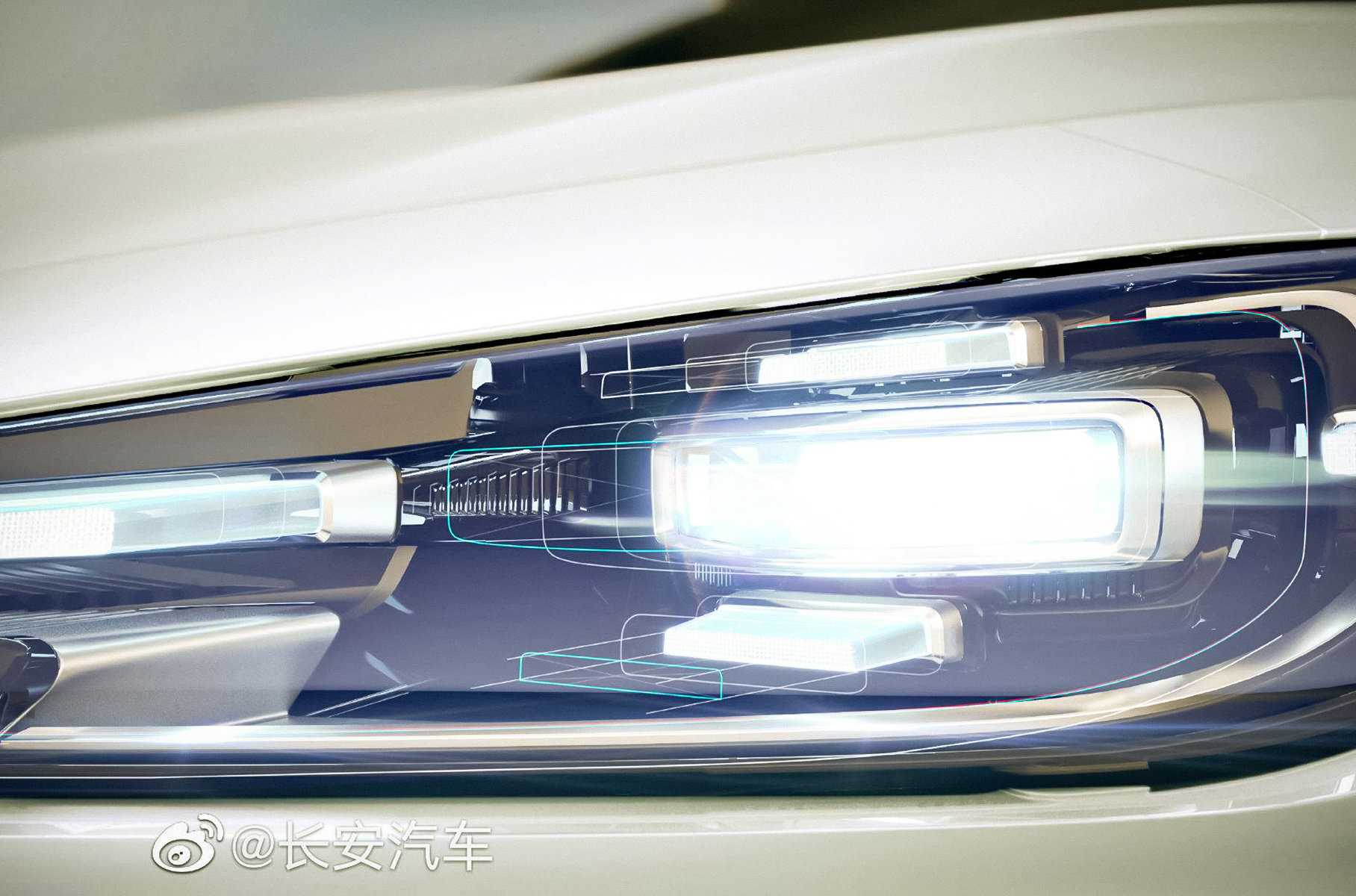 Changan's new Uni series car – a crossover named Uni-V – is nearly ready to come into the spotlight, but in the meantime, the company gives us several more teaser pics to look at.