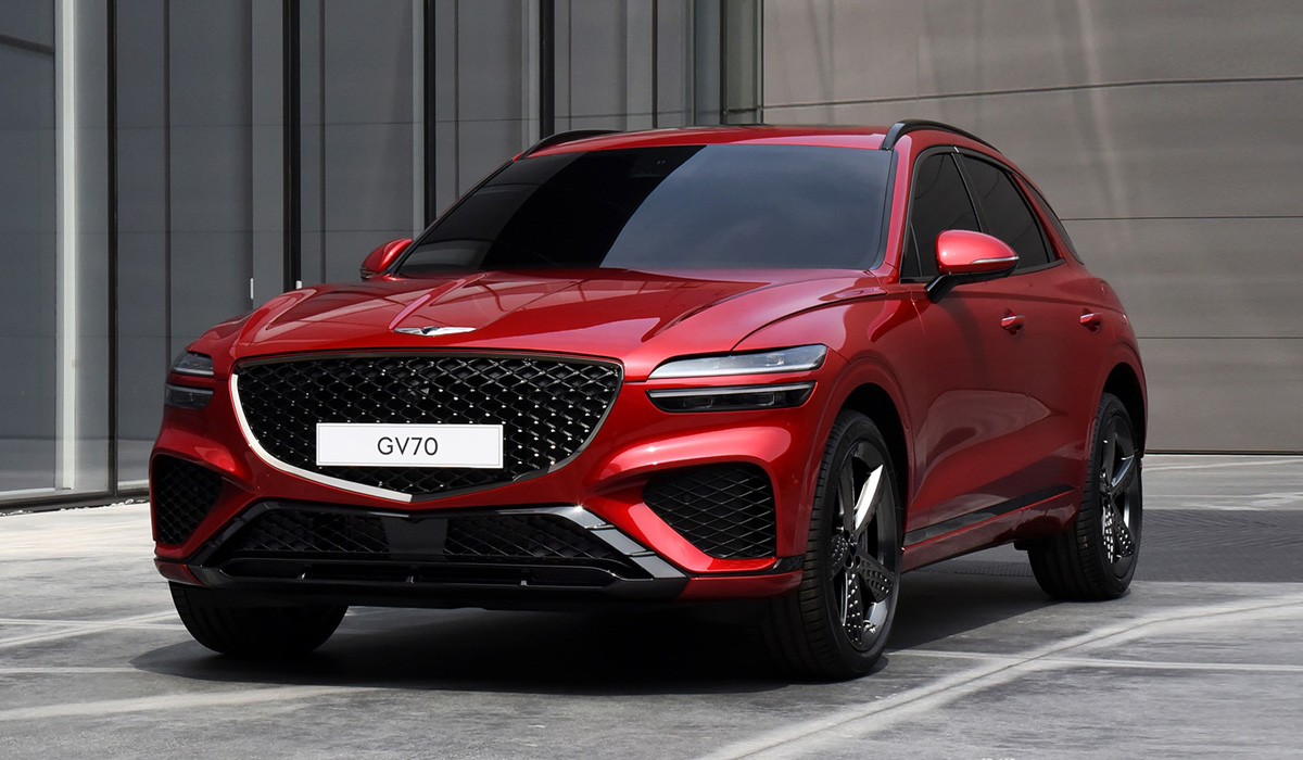 Genesis' second crossover SUV – the GV70 – hits the spotlight with some interesting details concerning its styling, tech and trims, although engine specs remain to be announced.