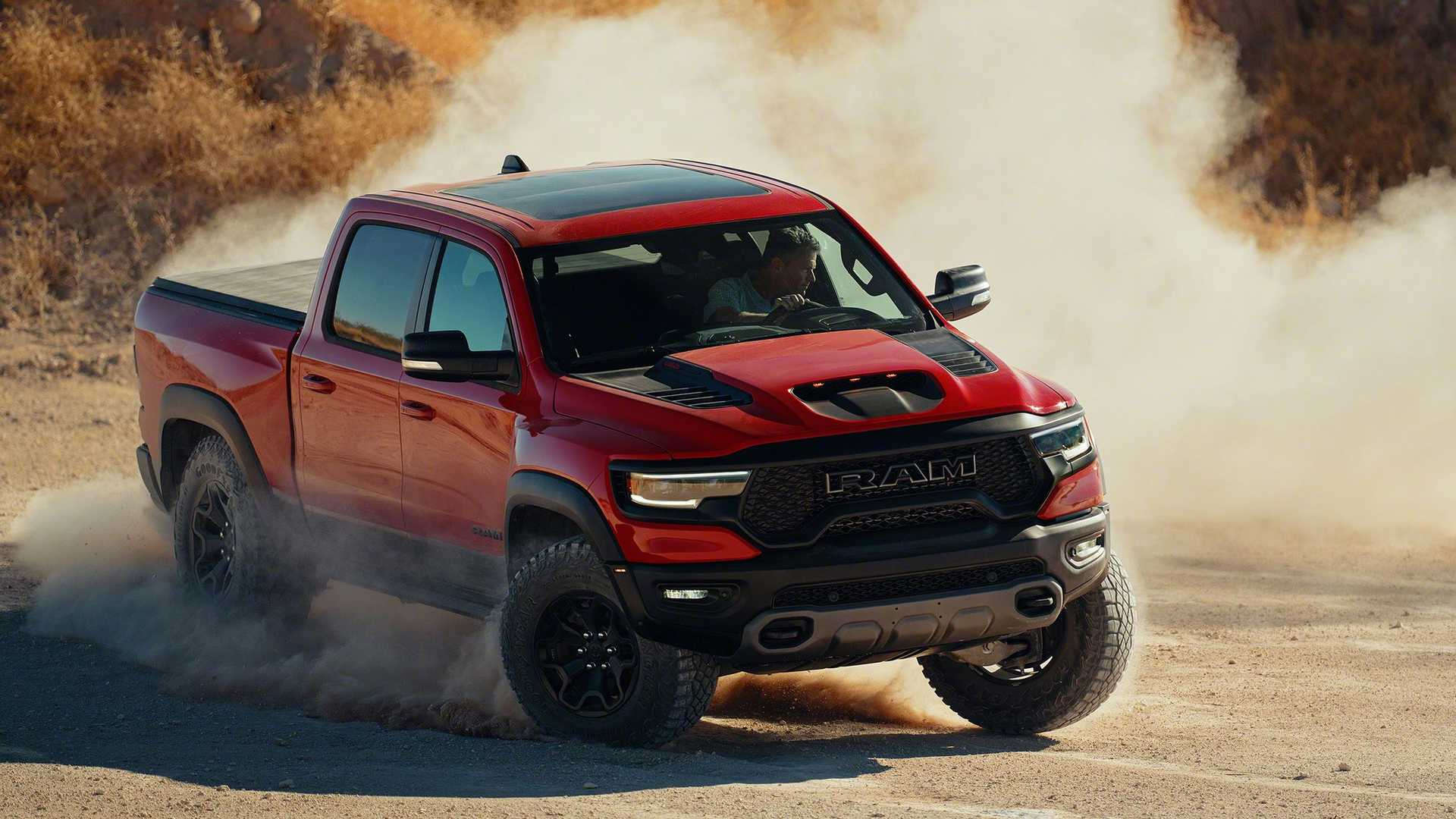 Fiat Chrysler Automobiles CEO Michael Manley let it slip during a talk with investors that an all-electric pickup truck was in development under the Ram brand. He refused to provide any release estimates.