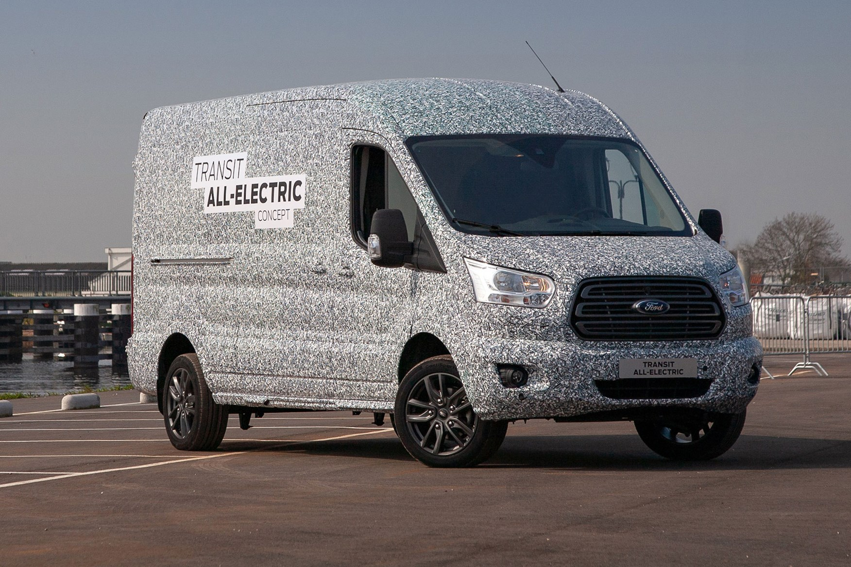 Following up on the announcement of the all-electric Ford Transit last year, CEO Jim Farley has confirmed that the production car is ready to debut and will do so next month.