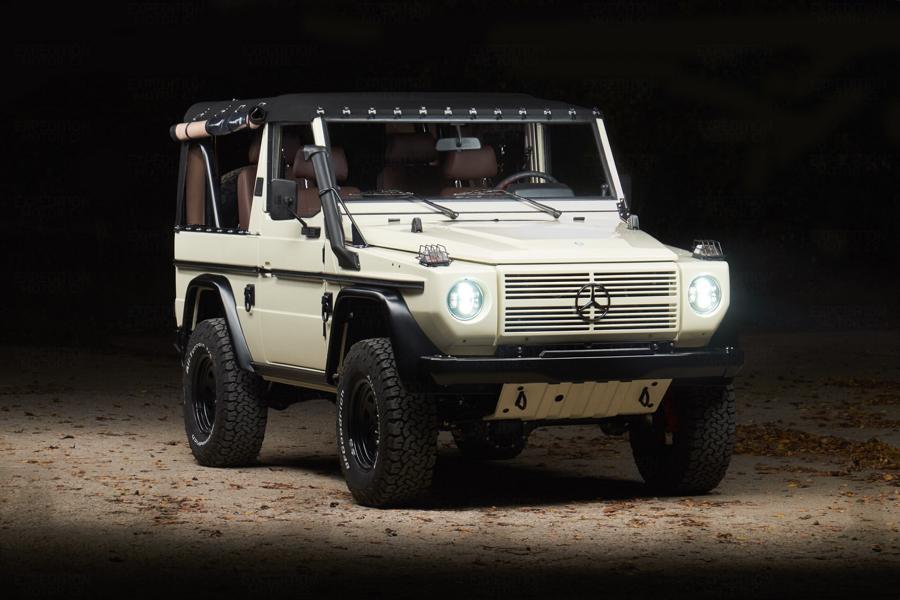 Автопроизводитель Mercedes-Benz долгое время выпускал лёгкий автомобиль пехоты 250GD Wolf, который слыл чем-то вроде «Гелендвагена для армии». В последнее время он приглянулся зарубежным тюнерам: на реставрацию данного экземпляра американская Expedition Motor Company потратила свыше 1000 часов.