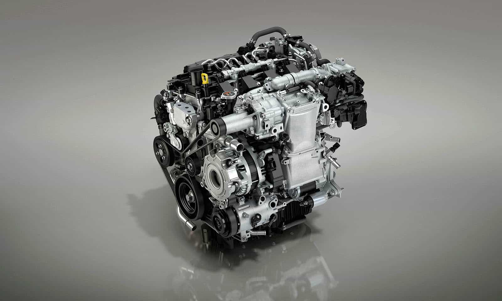 Sales of the next-gen Mazda 3 (see video) with the new 2.0-liter Skyactiv-X engine began in the end of 2019, and now, the innovative mill receives a handful of improvements.