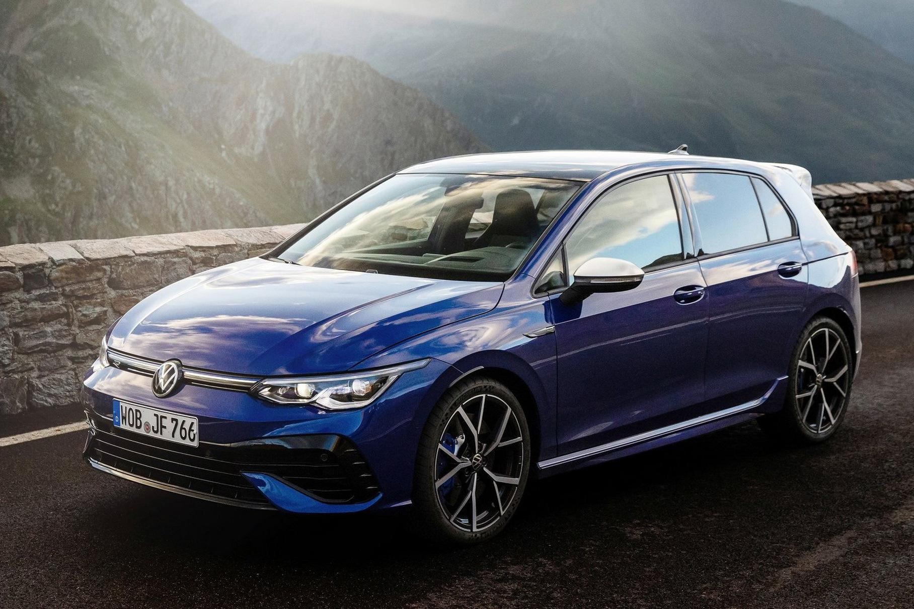 VW reveals the 2022 Golf R, the most powerful Golf ever