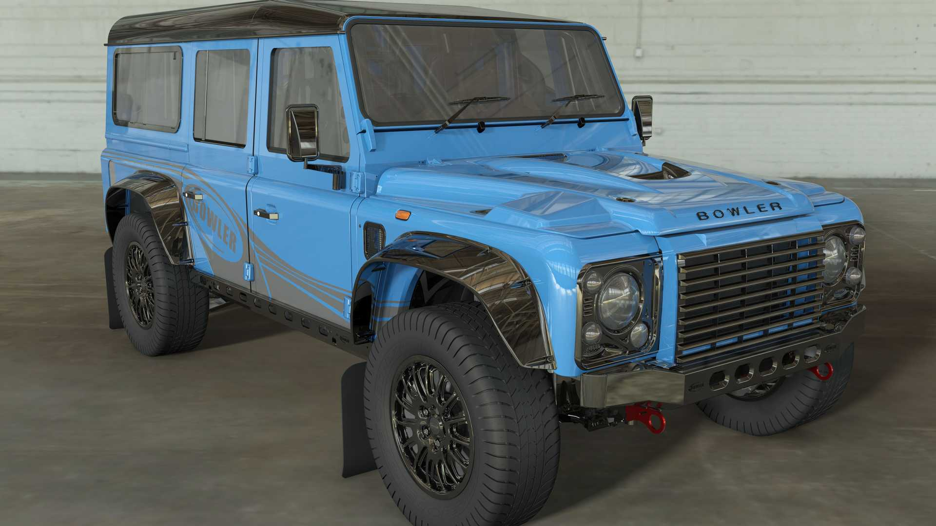 Original Defender 110 coming back, and with air conditioning