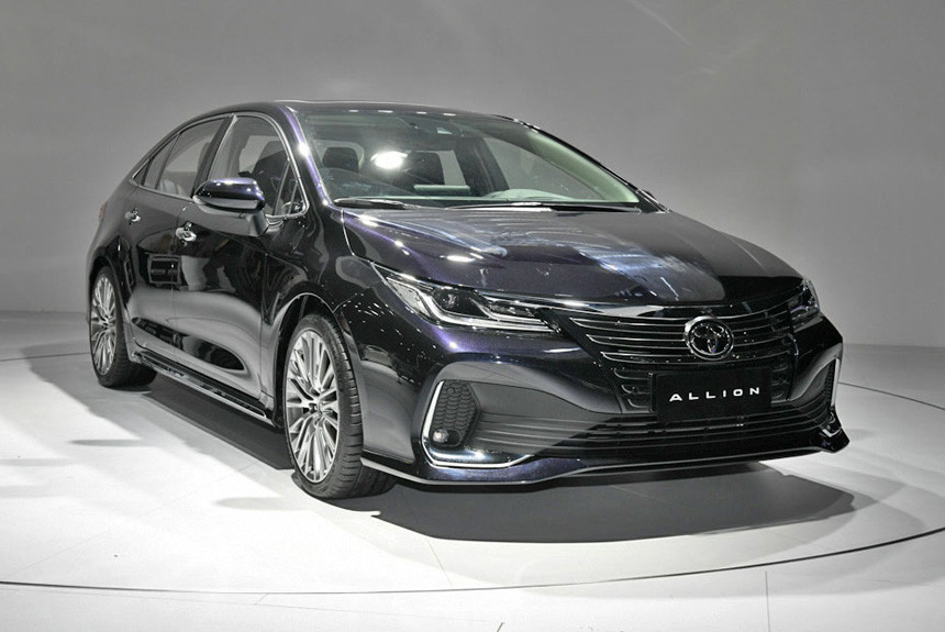 The Toyota Allion makes its debut outside of home market of Japan for the first time, but don't be misled into thinking it's a brand-new model.