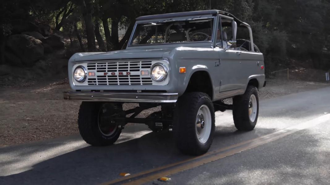Can a restored Ford Bronco that came out in late 1960s cost more than a new one? Absolutely – as long as it is a restomod.
