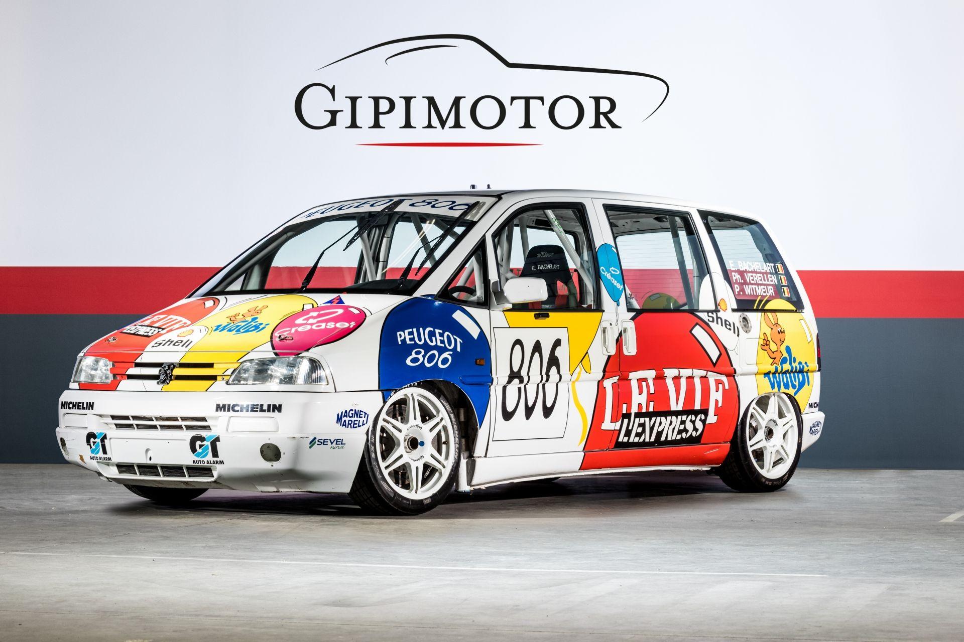 В Бельгии выставлен на продажу необычный Peugeot 806, созданный четверть века назад в ходе рекламной кампании автопроизводителя и серии Procar: команда Kronos Racing участвовала на нём в «24 часах Спа».