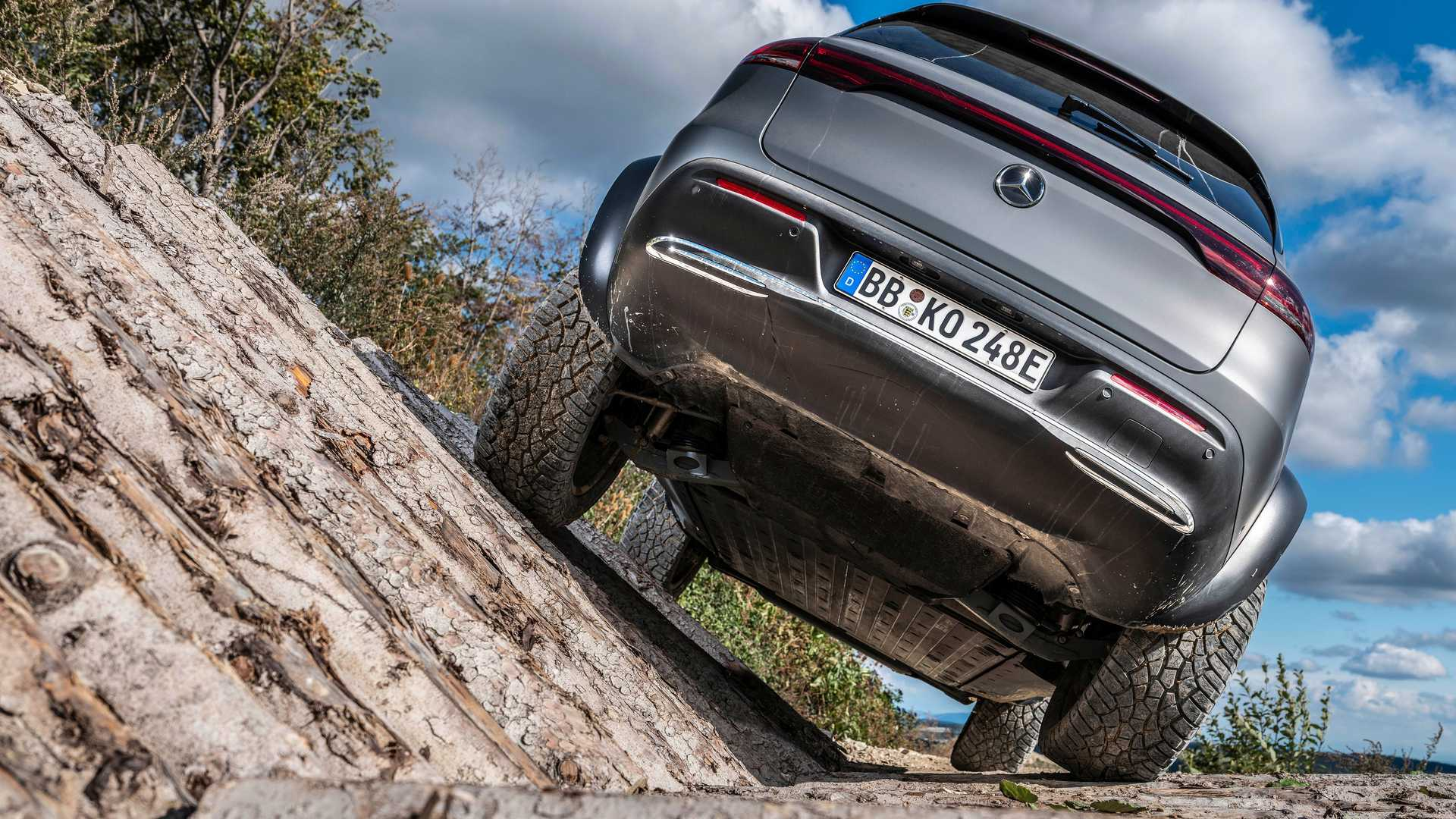 Mercedes-Benz has shared a new video showcasing the capabilities of its newest all-electric SUV, the EQC 4x4². The pre-production car was running tests on flooded terrain.