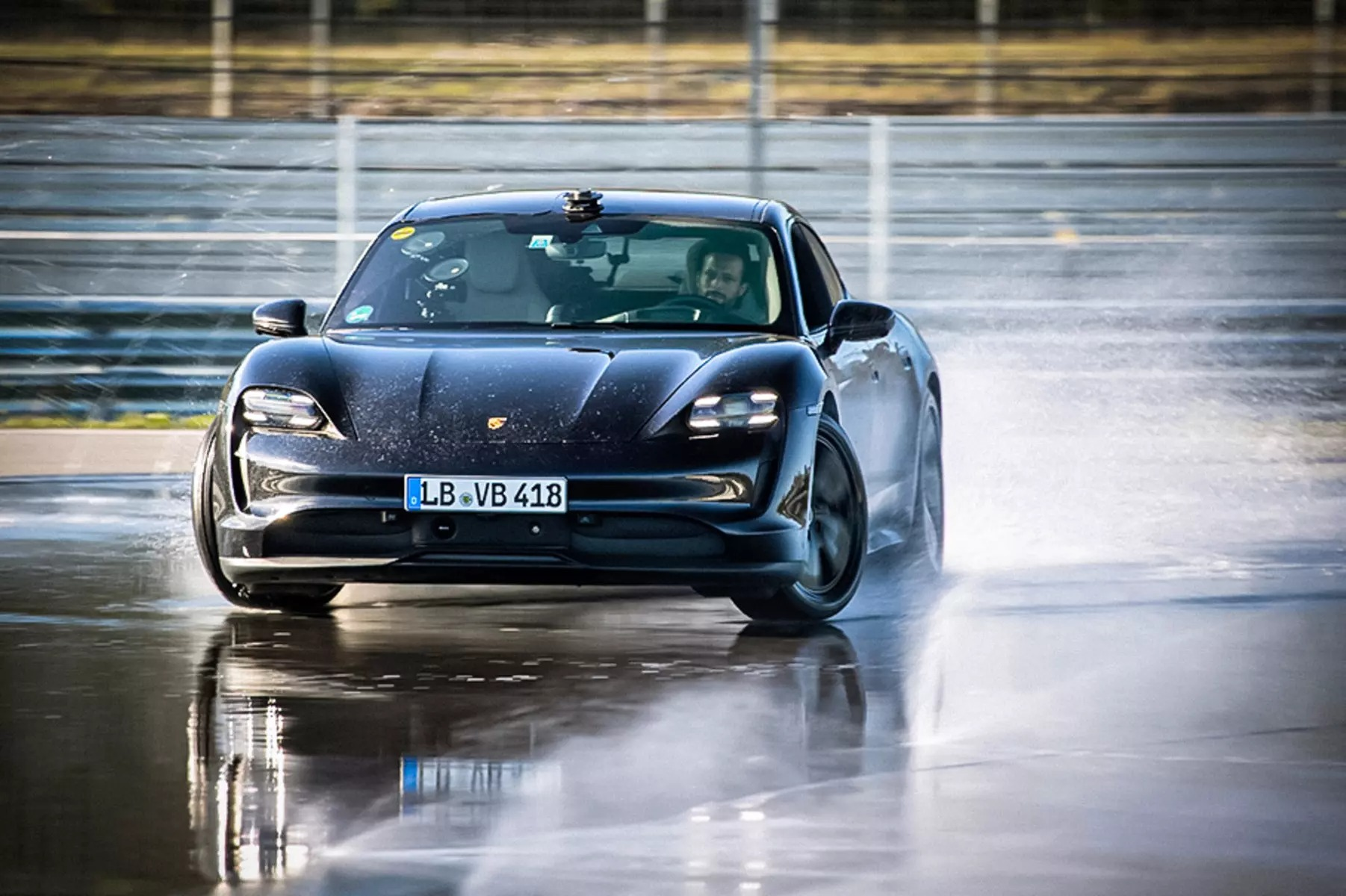 Porsche has made an entry in the Guinness Book for the longest controlled drift session in history. Its Taycan EV has made 42 kilometers in 55 minutes skidding sideways.