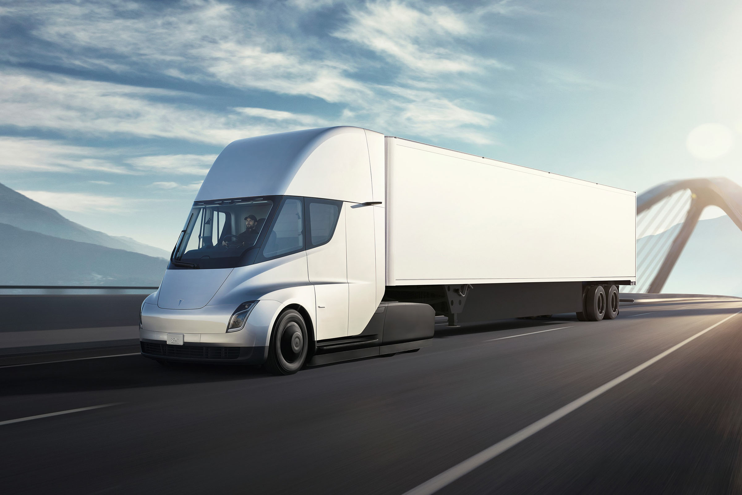 The world's second richest man right now believes that emerging battery tech should enable Tesla's first long-haul truck to run as long on a single charge as the recently shown fuel-cell-based Mercedes-Benz GenH2.