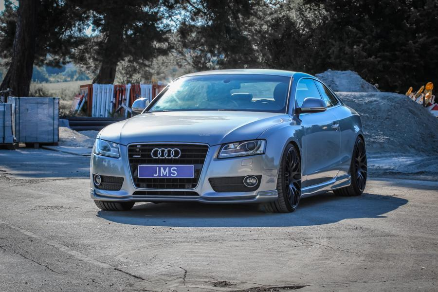 The first generation of the Audi A5 Coupe – the 8T – was in production in 2007 through 2016, but it still looks surprisingly up-to-date. And if you need it to be top-notch, consider these new body kit parts by JMS Fahrzeugteile.