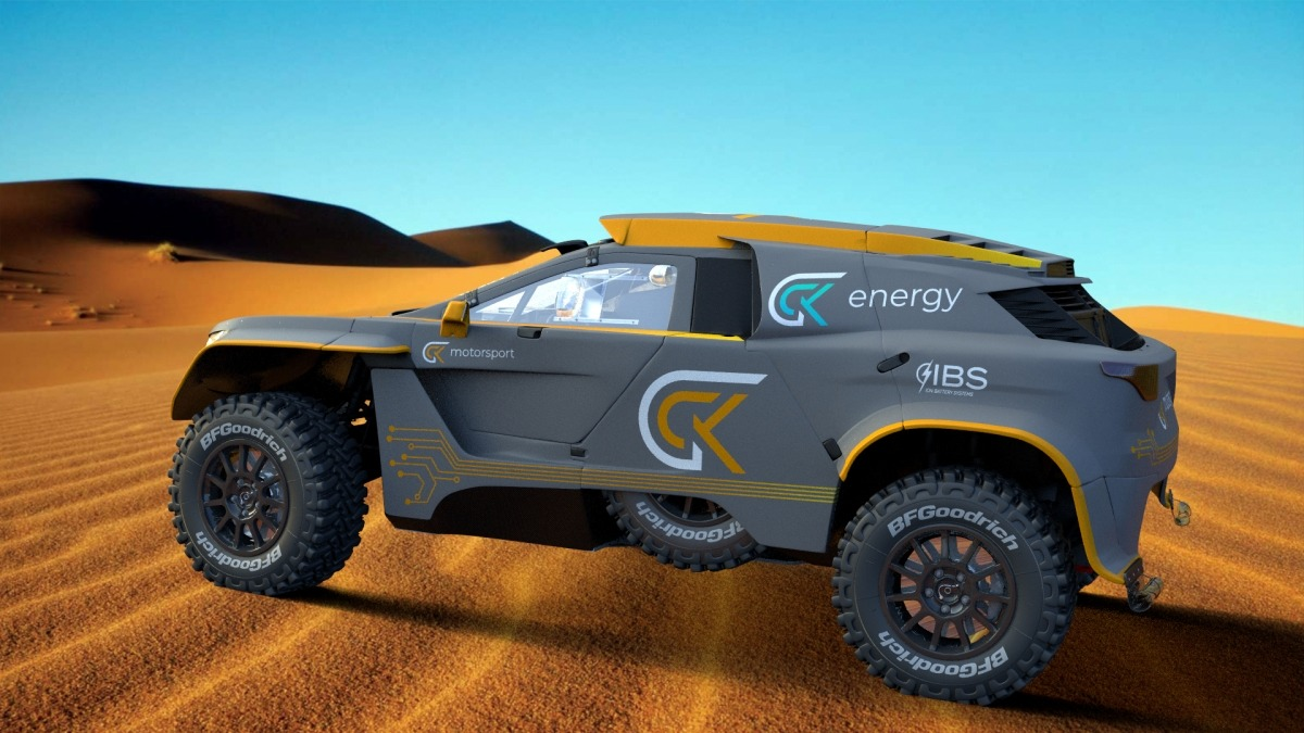 Guerlain Chicherit and his GCK Motorsport rally team is busy turning the Peugeot 3008 DKR – the vehicle that won the Rally Dakar in 2017 and 2018 – into an extreme all-electric off-roader called the GCK e-Blast 1.