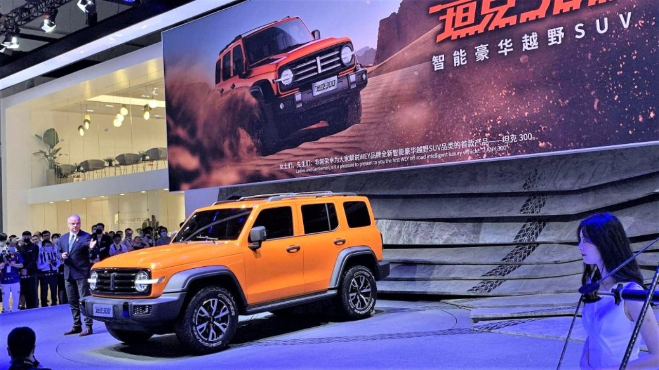Wey, a premium automotive brand controlled by Great Wall, did not reveal a single new car at the Auto Guangzhou expo this year, but promised three utility vehicles coming up in 2021.