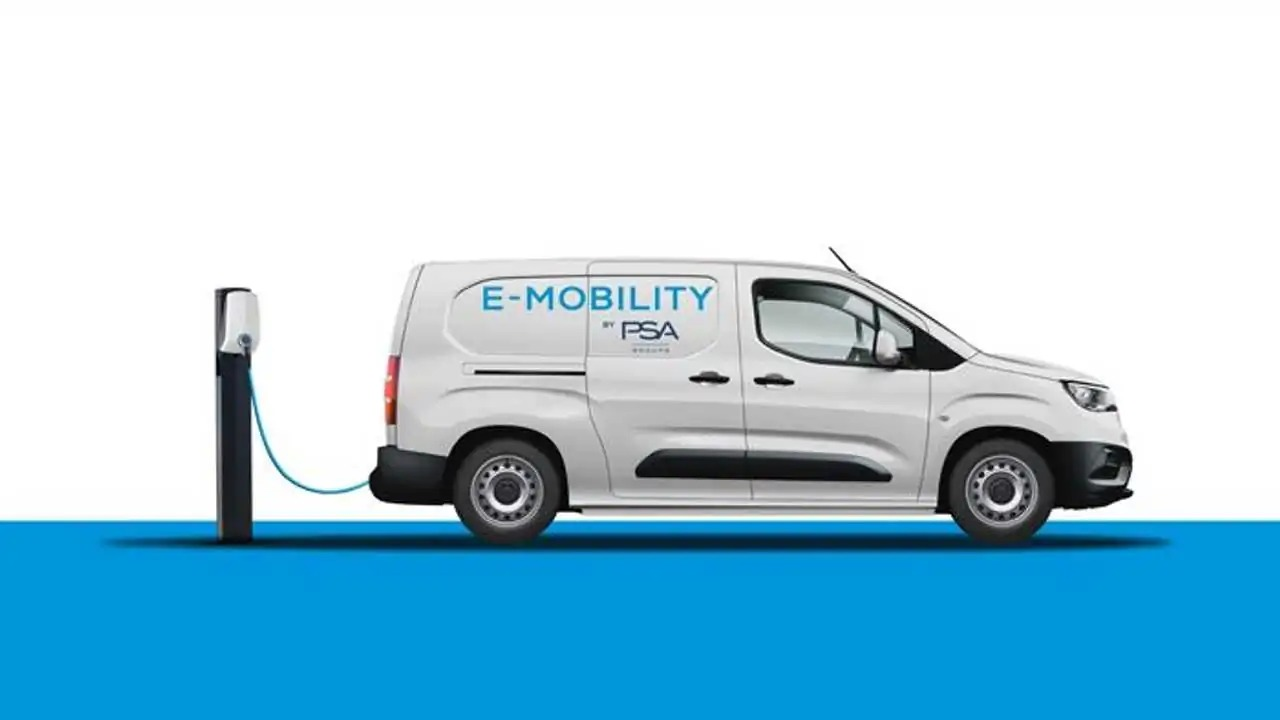 Peugeot S.A. intends to unveil all-electric variants of all K9-series commercial vans and MPVs in 2021, specifically those based on the EMP2 platform with Vauxhall, Opel, Citroën, and Peugeot branding.