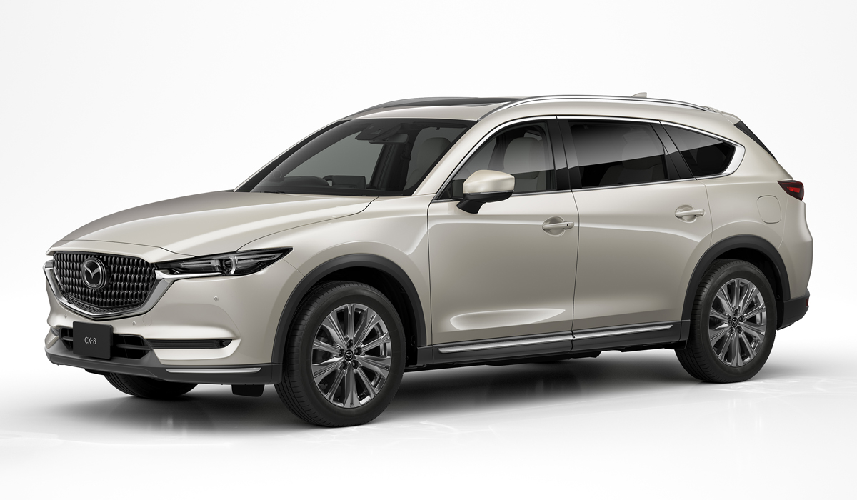 Customers in Japan may now pre-order 2021 model year versions of the Mazda CX-5 and CX-8. The changes aren't too great, mostly boiling down to new trim versions and revised old versions.