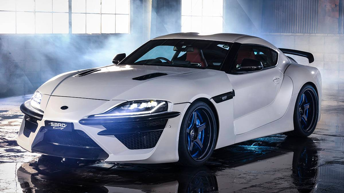 Despite any criticisms purists may have, the Toyota A90 Supra is here to stay. Aftermarket vendors already have scores of body kit parts on offer for it, but new teams invariably come up with something fresh and original. SARD is the latest example.