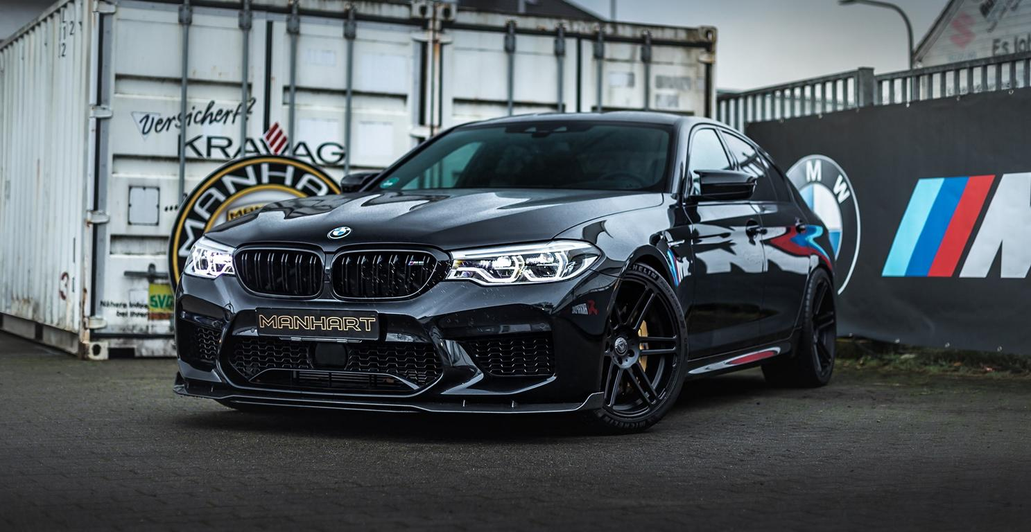 In summer 2018, Manhart Performance unveiled its own rendition of the BMW F90 M5, which it pushed to 723 PS (713 hp / 532 kE) and 870 Nm (642 lb-ft) of torque. The new MH5 800 Black Edition announced this week promises to be even stronger than that.